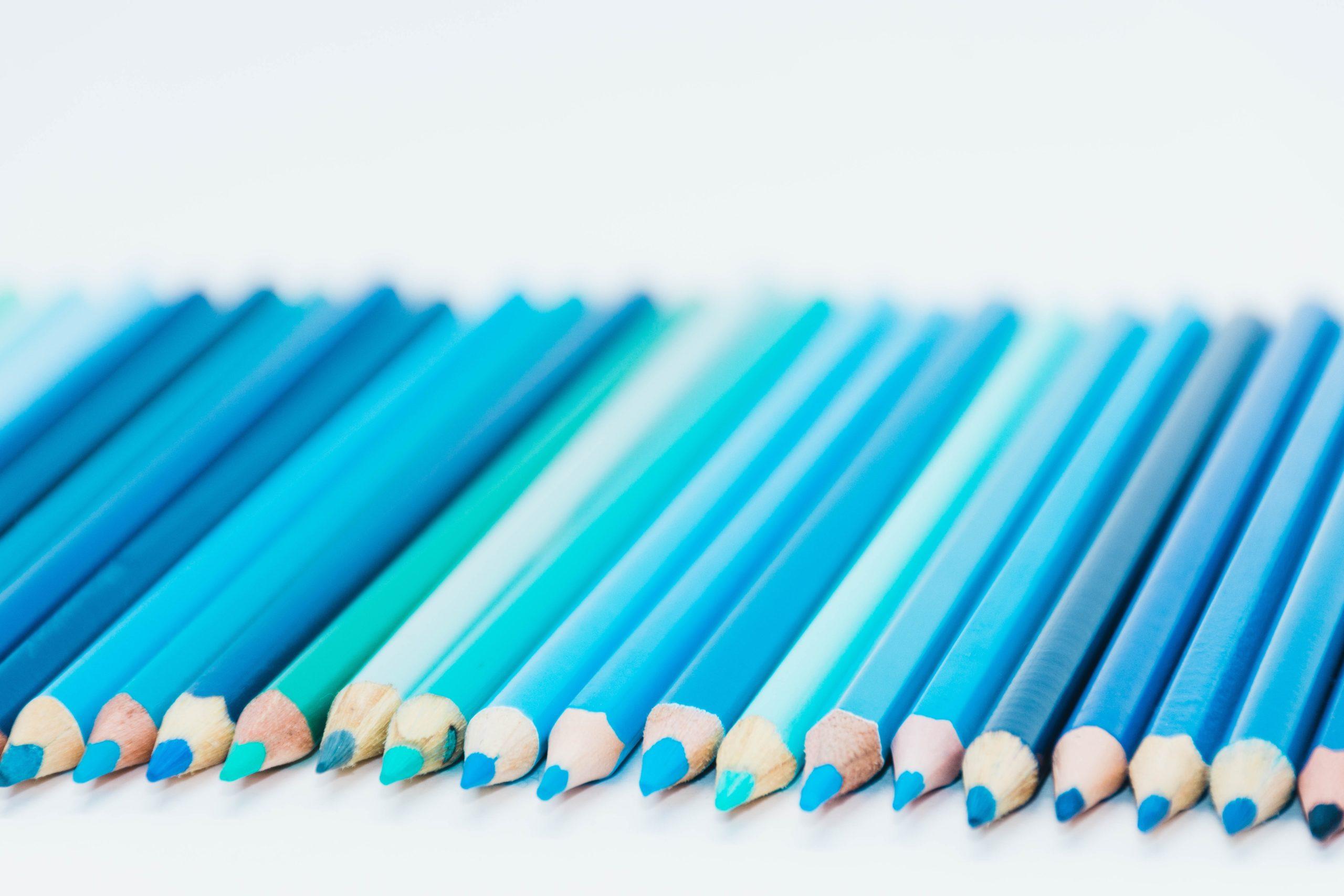 Blue Pencils - VWV Plus
