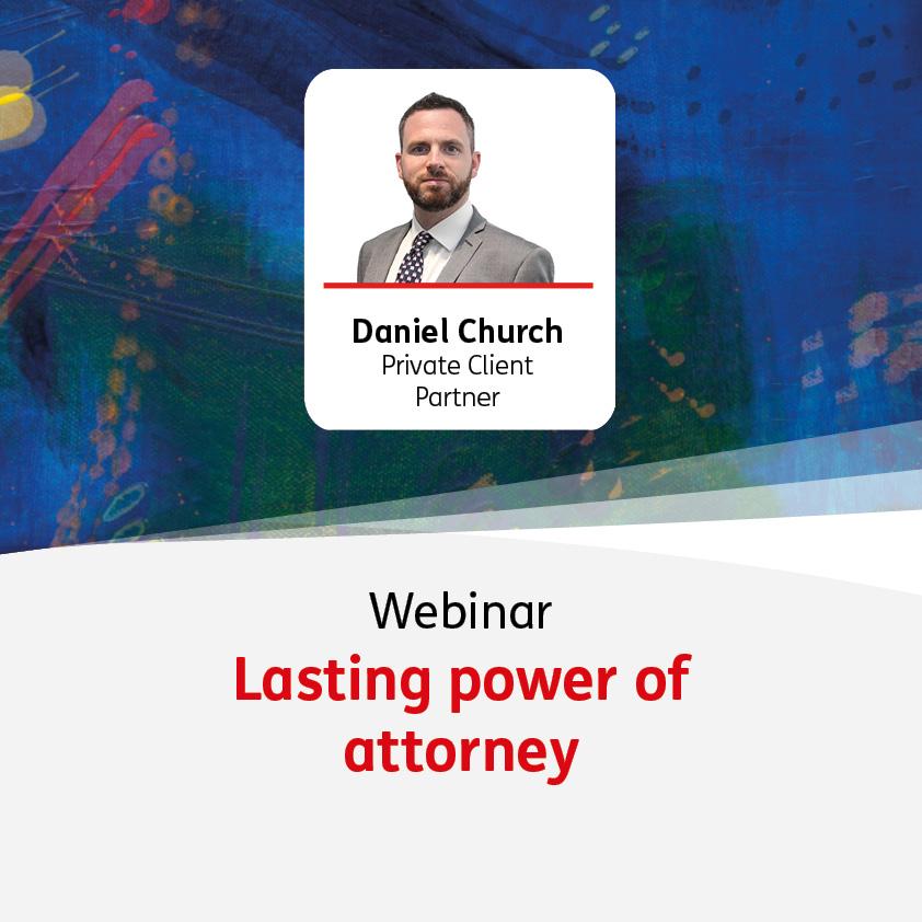 Online Workshop - Lasting Power of Attorney