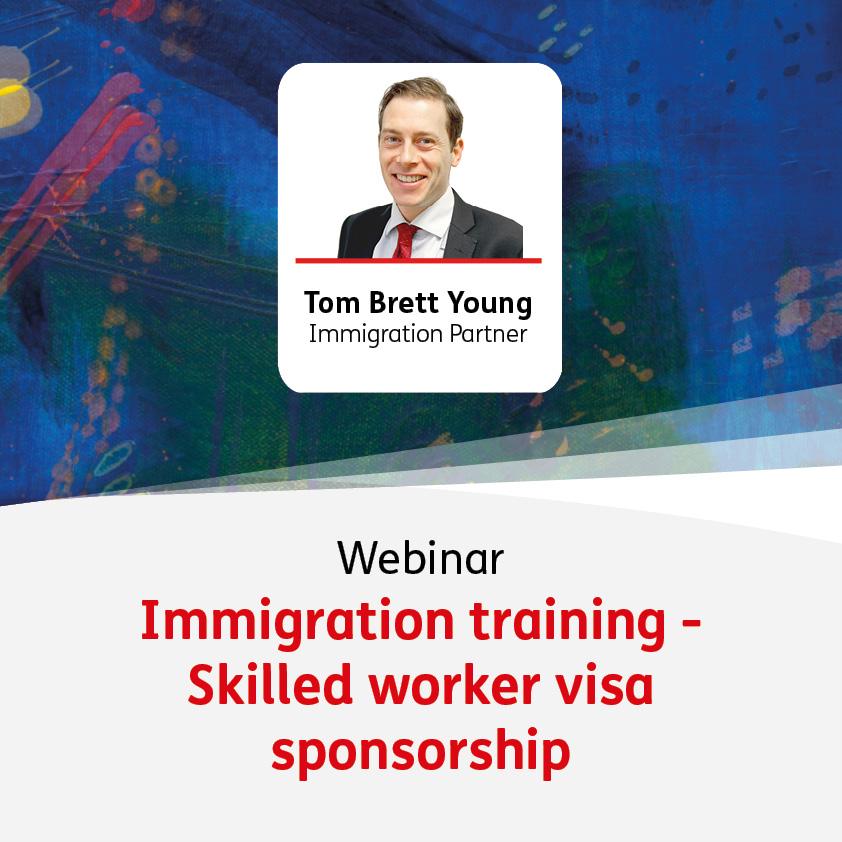 Skilled Worker Visa Sponsorship - Immigration Training for School HR Teams