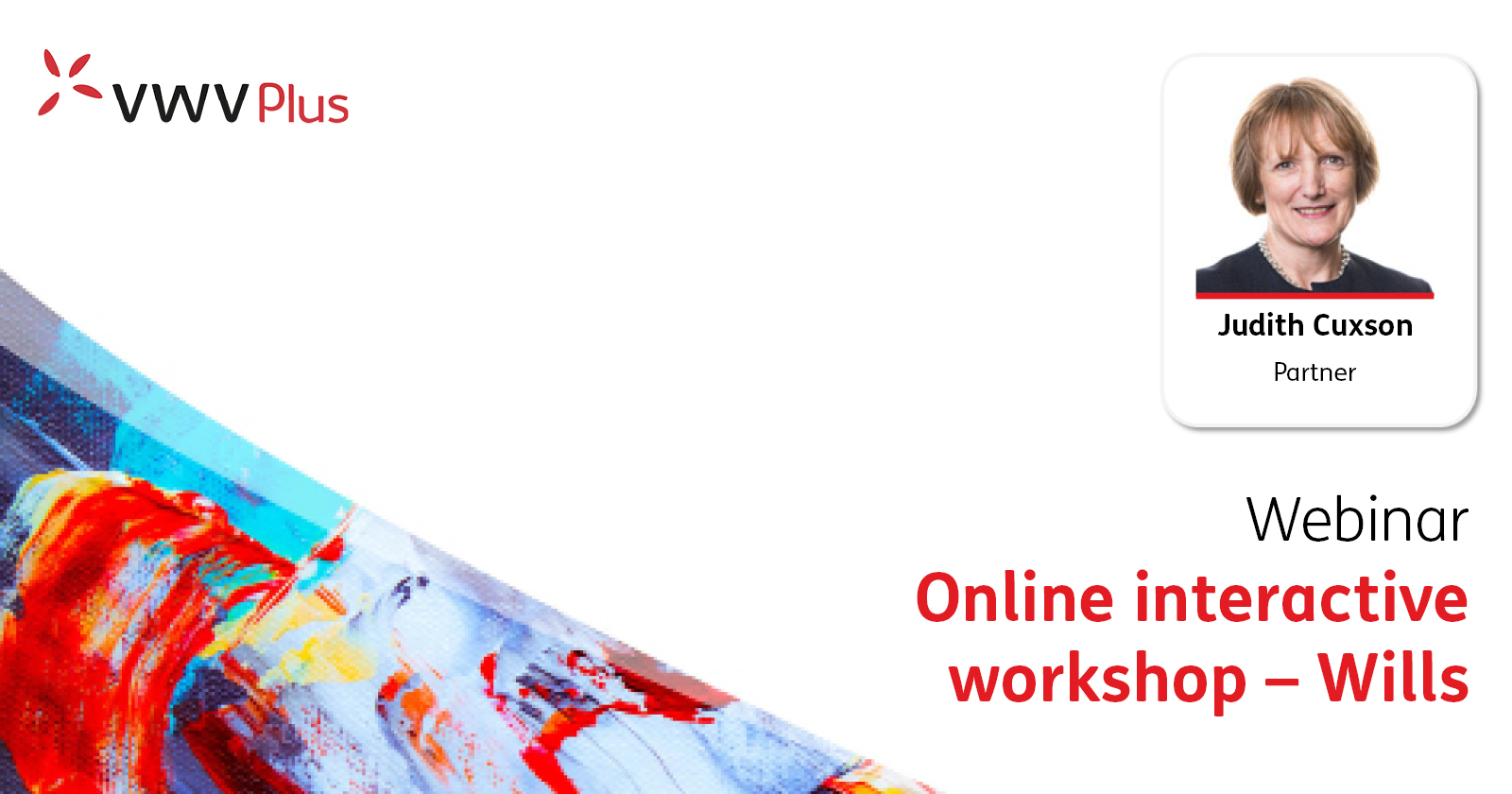Interactive wills workshop   VWV Plus