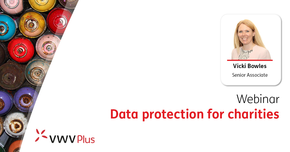 Data protection for charities - 8 June 2021