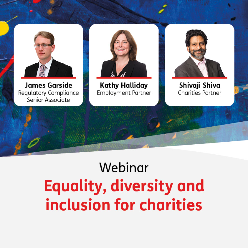 Equality, diversity and inclusion for charities - 25 May 2021