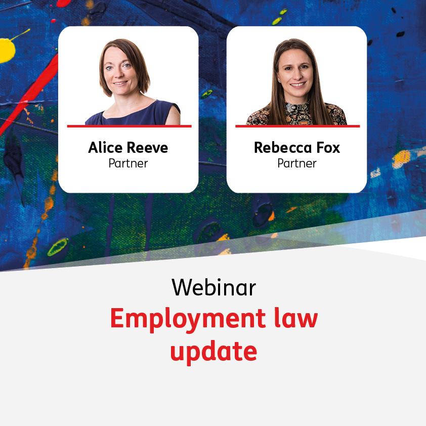 Employment law update - 16 June 2021