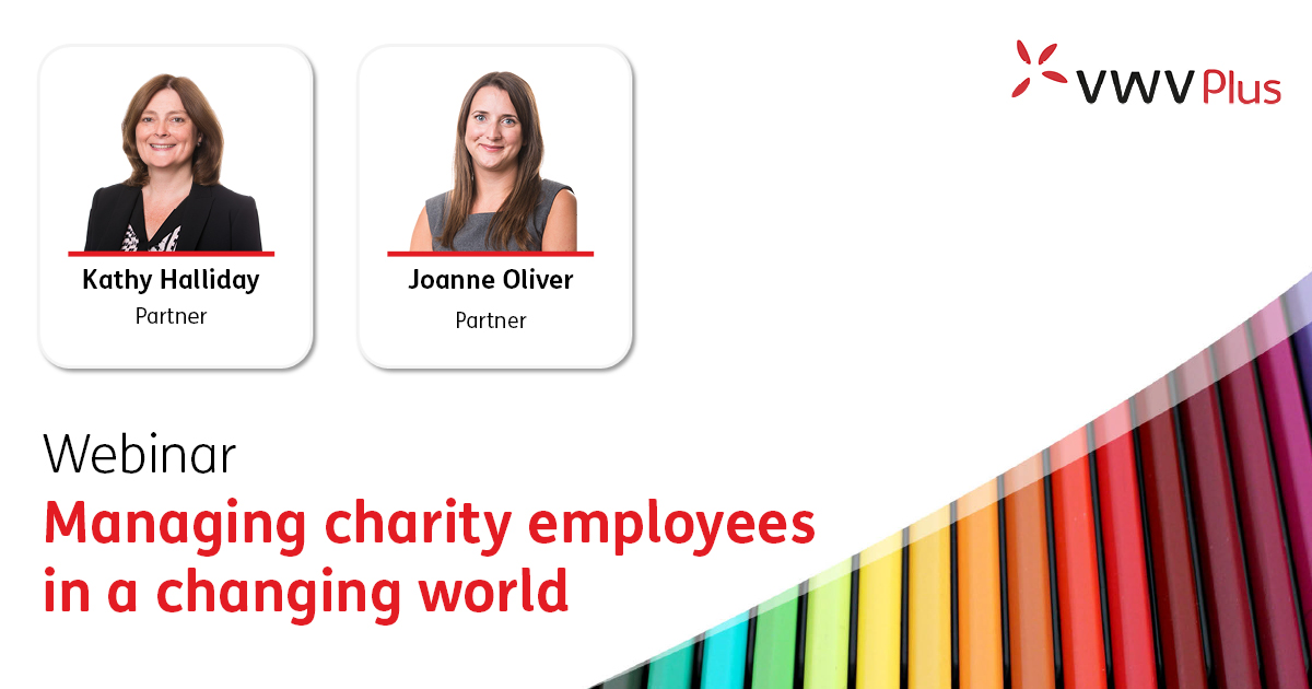 Managing charity employees in a changing world - 8 July