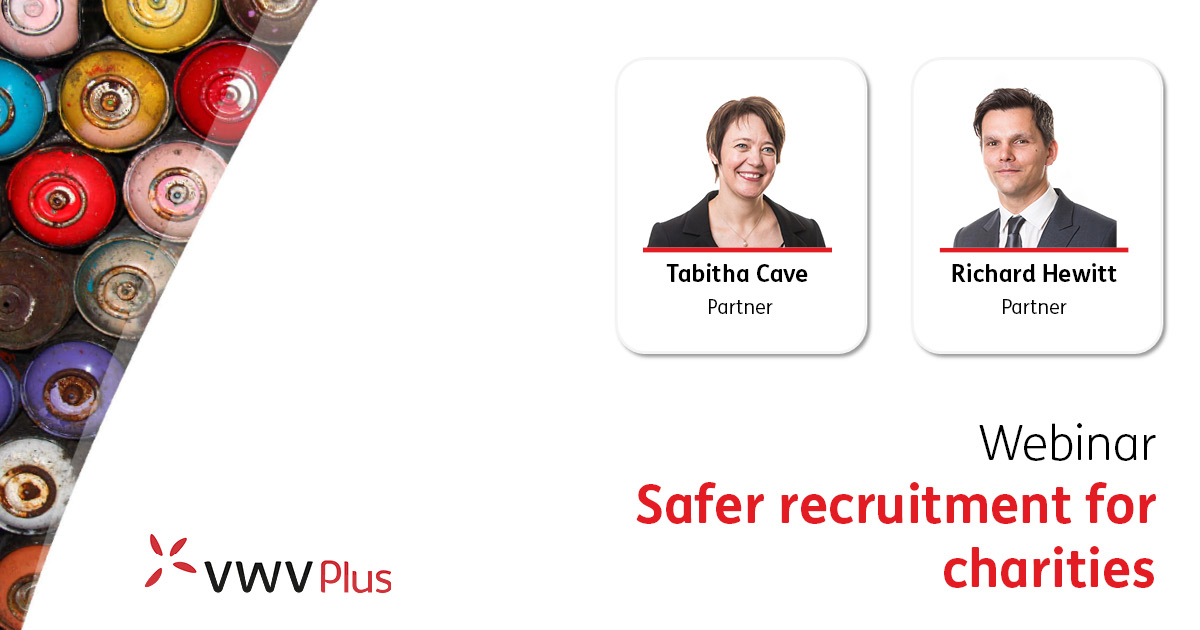 Safer recruitment for charities - 29 June 2021