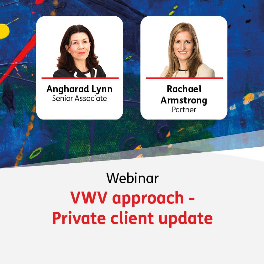 VWV approach - Private client update - 23 June