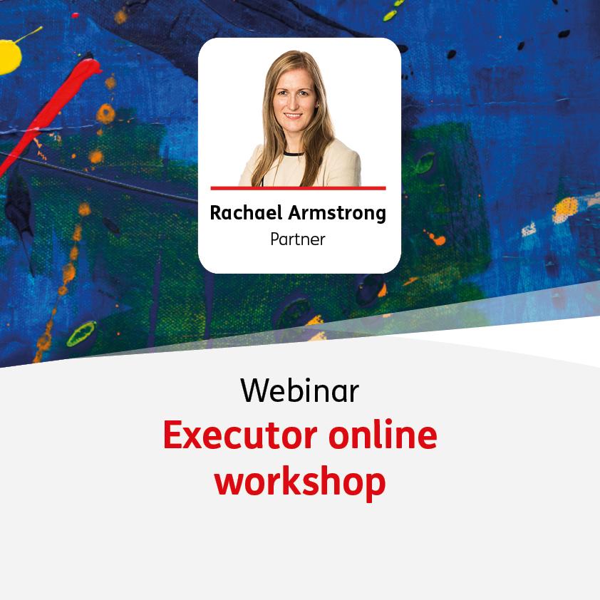 Executor online workshop - 9 February