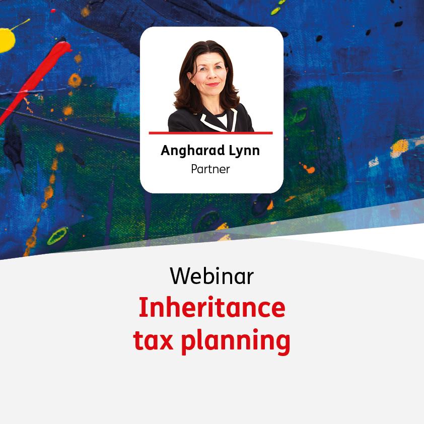Inheritance tax planning - 20 April 2022