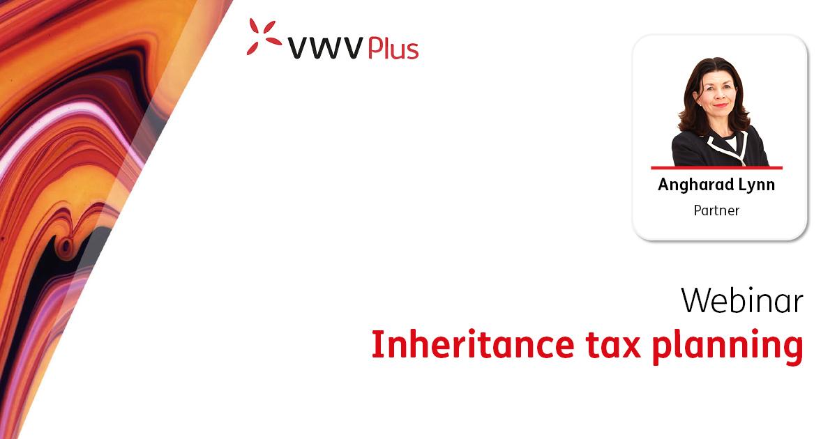 Inheritance tax planning - 13 October 2022