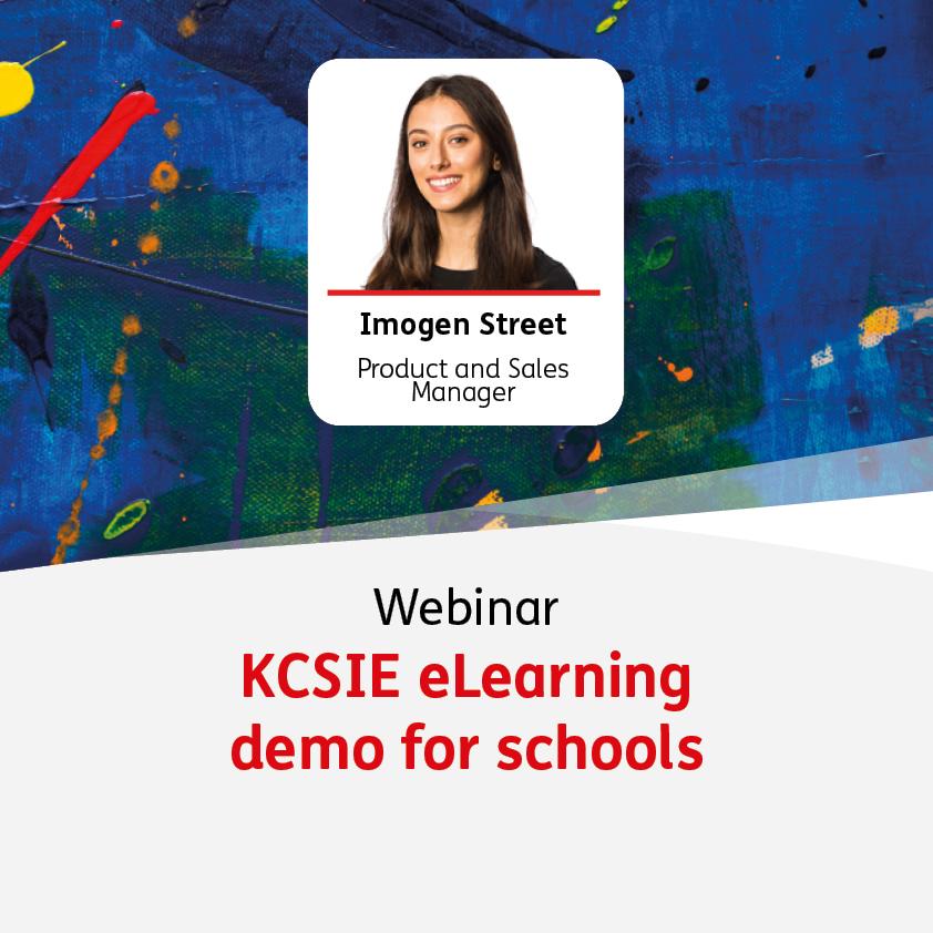 KCSIE eLearning demo - 25 August