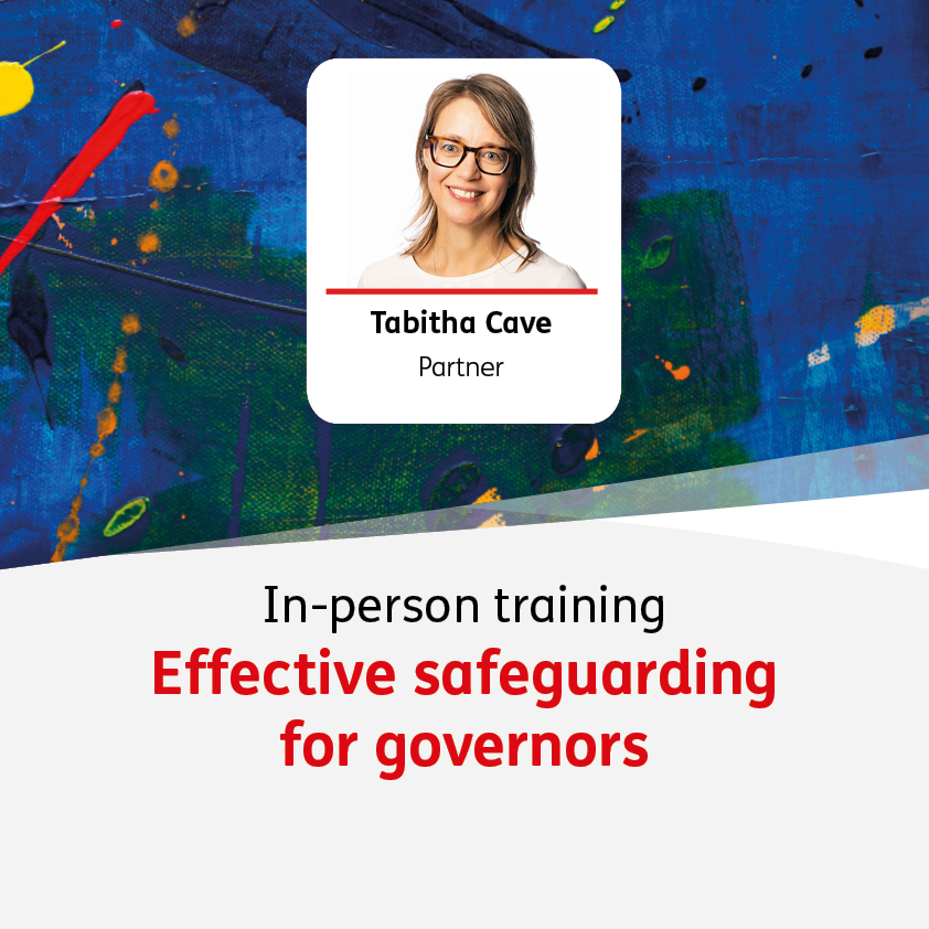 Effective safeguarding for governors - 19 October