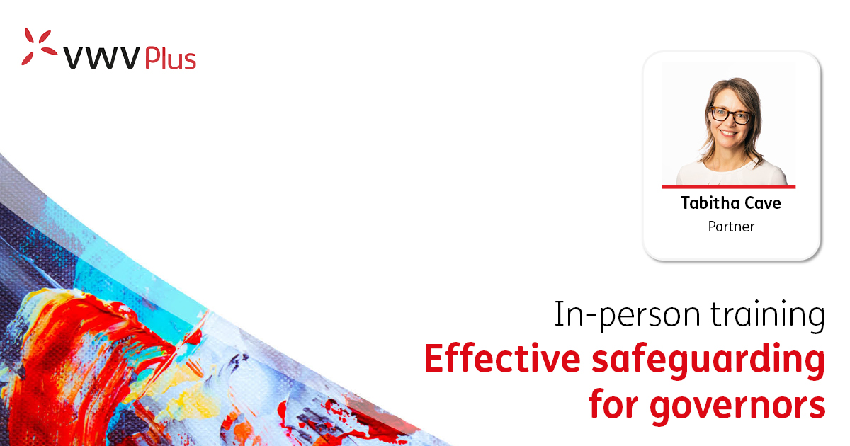 Effective safeguarding for governors - 10 October