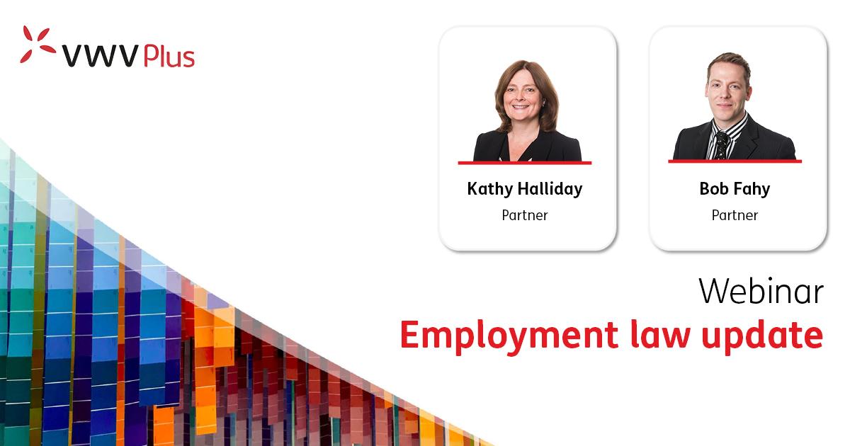 Employment law update - 8 Sept 2021