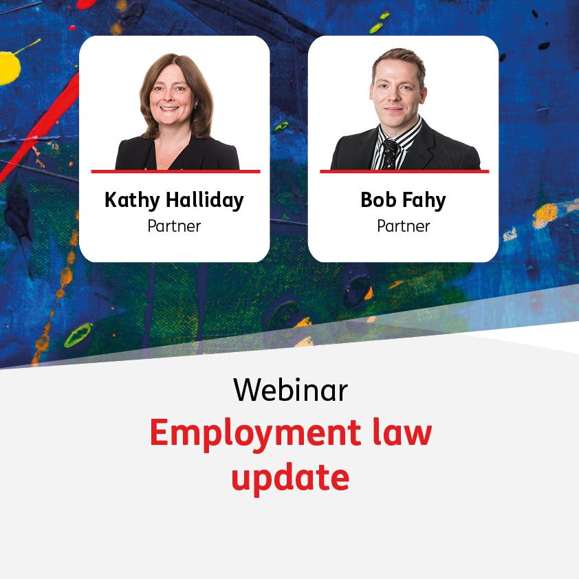 Employment law update - 8 September 2021