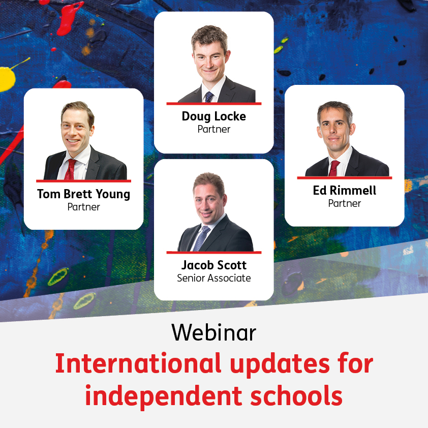 International update for independent schools - 23 September