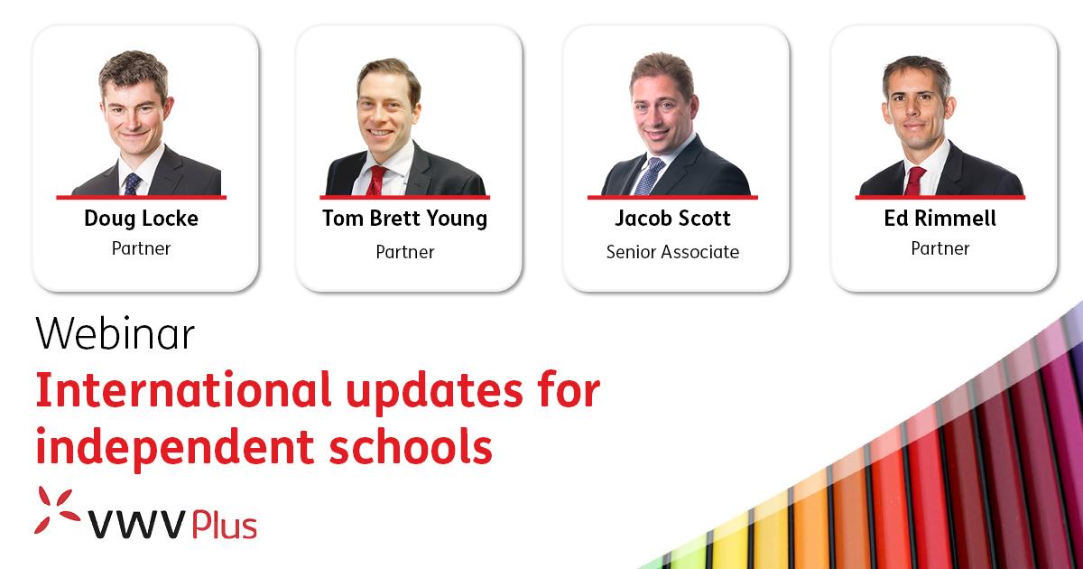 International updates for independent schools - 23 September