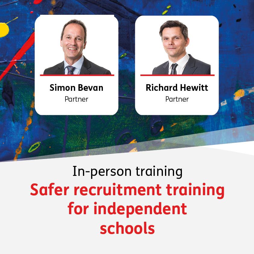 Safer recruitment training - 6 October